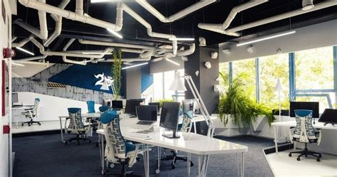 Design office project ezzo design quirky spaceship as game studio office by ezzo design at the
