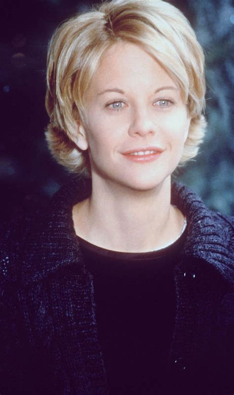 meg ryans hairstyle inthe youv got mail meg ryan is barely recognisable in first public appearance