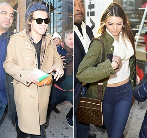 kendall jenner and harry styles were spotted eating together at a harry styles and kendall jenner were spotted leaving the