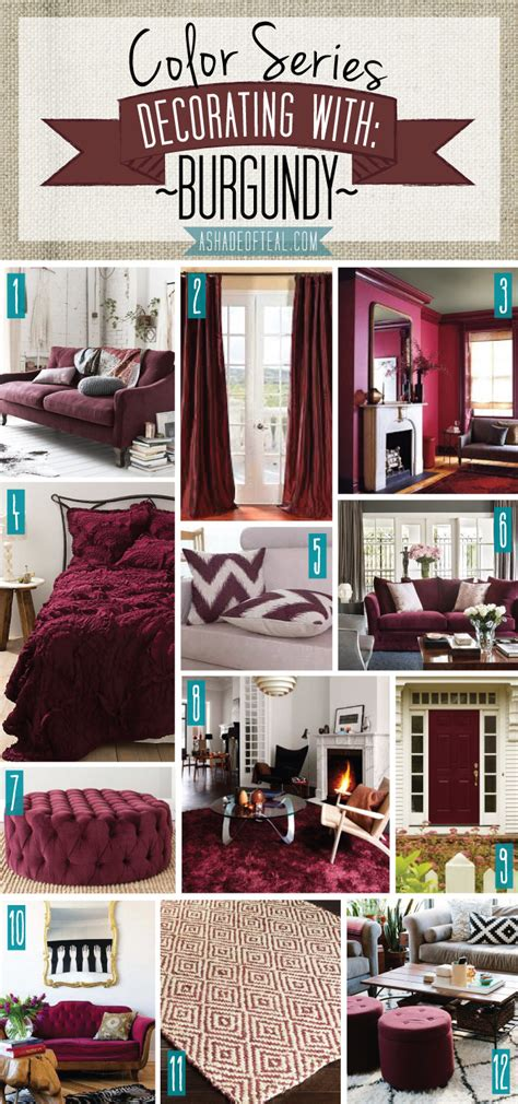 colors that go well together in home decorating color series decorating with burgundy teal decorating