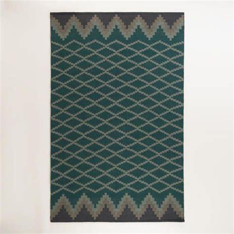 costplus world market outdoor rug nadine lattice flatweave indoor outdoor rug at cost plus