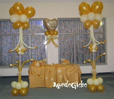 decoracion de boda con globos decoracion con globos para bodas de oro
