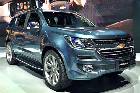 chevrolet cruze facelift revealed autocar india chevrolet trailblazer facelift revealed at bangkok car