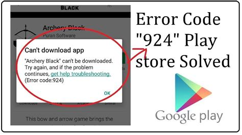 Play Store Can T Find App How To Fix Play Store Error 924 Can T