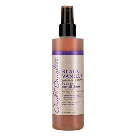 Vanilla Hair Conditioner black vanilla leave in conditioner carol s