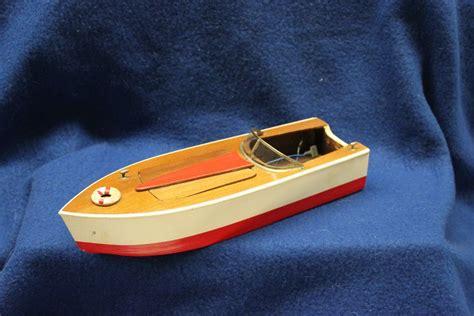 fleetline boats 1950 s original fleetline sea spray all wood toy boat