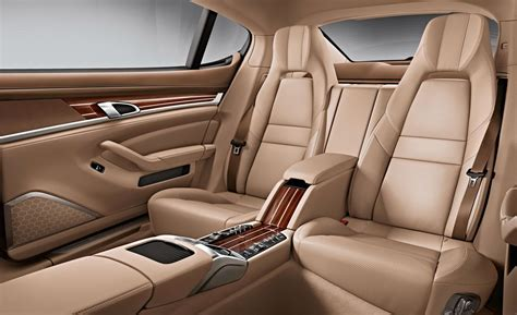 porsche panamera turbo interior car and driver