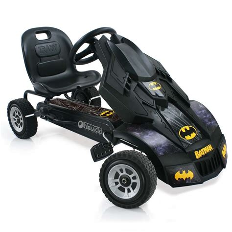 batman jeep toy hauck t90230 batmobile batman pedal go cart go kart