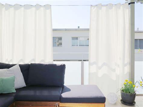 terrasse vorhang vorhang terrasse gamelog wohndesign
