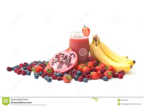 Blueberry Pomegranate Detox by Berry Smoothie Detox Stock Image Image Of Juice Cutout
