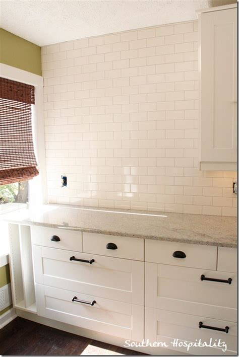 installing subway tile backsplash in kitchen how to install subway tile backsplash