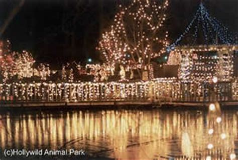 Hendersonville Holiday Lights Safari Benefit Opens Saturday Hollywild Zoo Lights