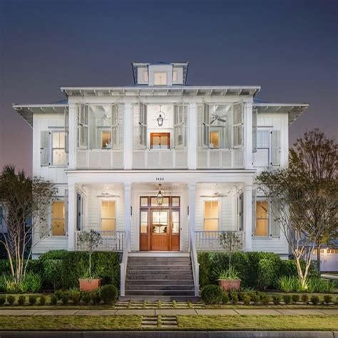 charleston style homes double porches charleston style shuttered sleeping porch