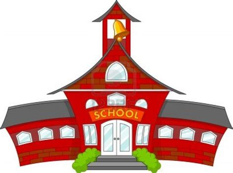 school house cartoon school building black and white www imgkid com the image kid has it