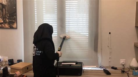 steam cleaner for curtains and blinds tlp roller blind steam cleaning youtube