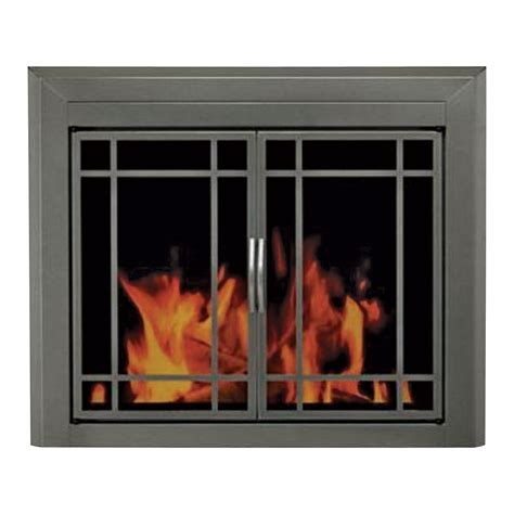 Pleasant Hearth Fireplace Doors pleasant hearth edinburg fireplace glass door for