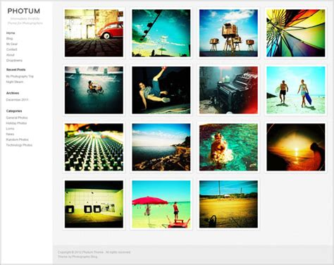 photo portfolio themes free 20 simple yet elegant free premium wordpress portfolio