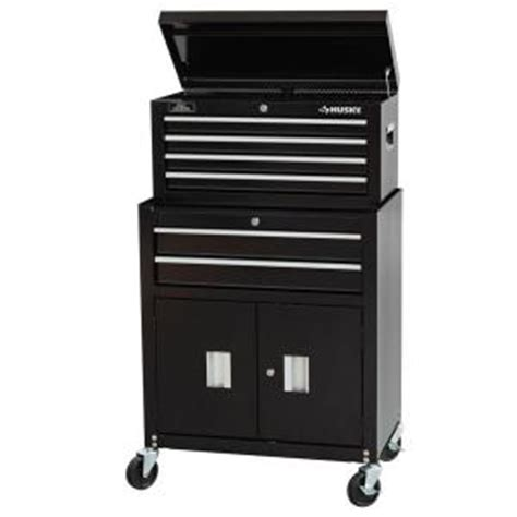 Husky 8 Drawer Tool Chest by Husky 26 In 6 Drawer Tool Chest And Rolling Tool Cabinet