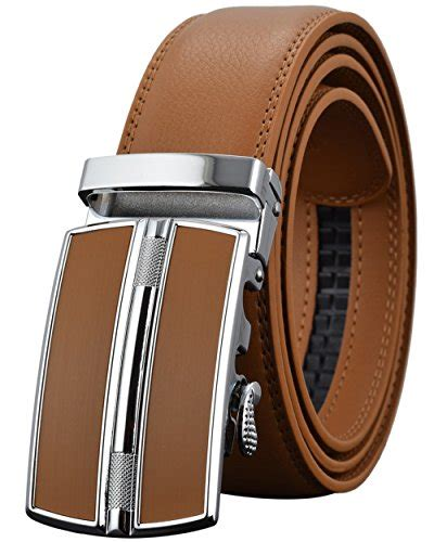 Original Lombardi Automatic Buckle Belt Sabuk Brown 1 leather belts for mens ratchet dress belt black brown with