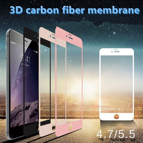 Zilla 3d Carbon Fiber Tempered Glass Curved Edge 9h 4wv6ie Gold zilla 3d carbon fiber tempered glass curved edge 9h for iphone 6 6s gold