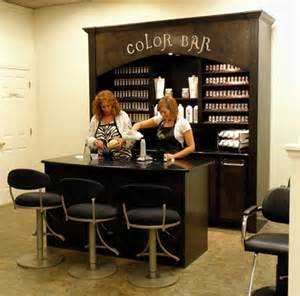 salon color bar salon color schemes top interiors