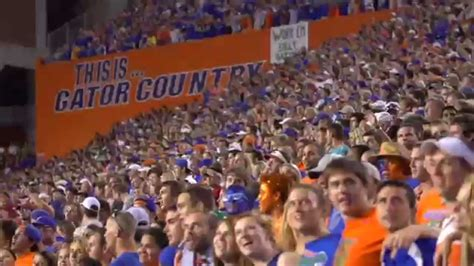 florida gators fan florida football why we gator fans