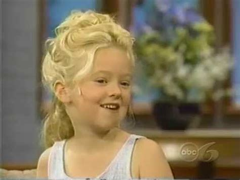 madylin sweetin interview 1998 age 6 youtube