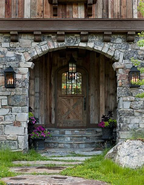 Log Home Front Doors Front Door Log Home Entrance Home