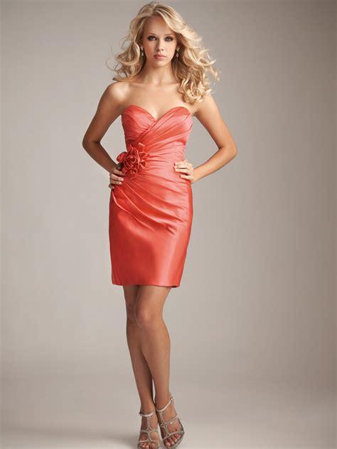 salmon colored dress salmon colored dresses 2 satin bridesmaid