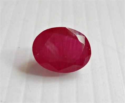 ruby real manik ruby gemstone burma 6 1 carat with