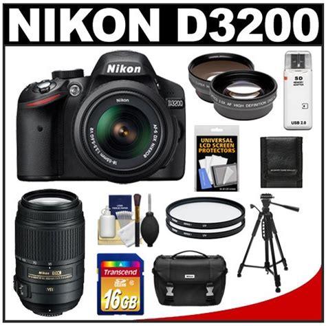 Cek Kamera Nikon D3200 price comparisons for nikon d3200 digital slr 18 55mm g vr dx af s zoom lens black 55