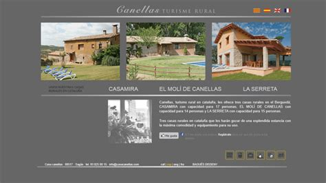 Web Casa by Ideas And Exles For Web Design Cottage Rural Hotel
