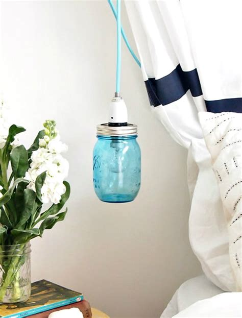 mason jar hanging lights make a pretty mason jar pendant light mason jar crafts