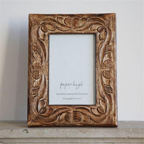 Wood Frame by Jaraja Mango Wood Photo Frame By Paper High