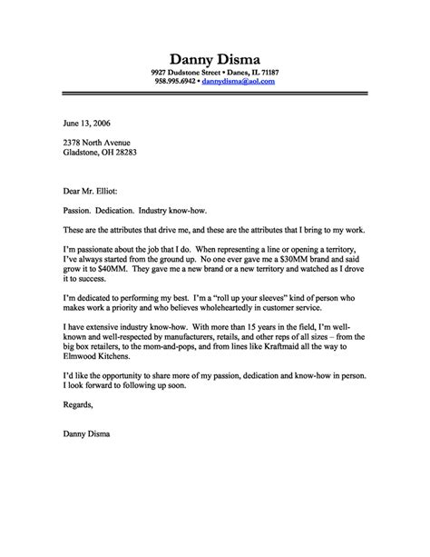 Business Cover Letter Exle 10 Cover Letter Sles Basic Appication Letter