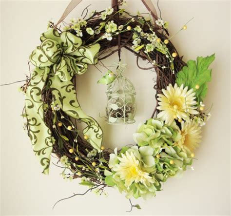 Handmade Door Wreaths - 20 refreshing handmade wreaths