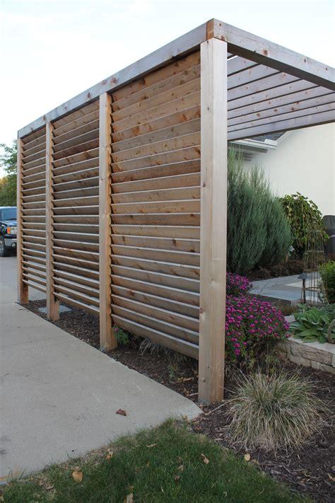 louvered garden privacy wall https www homedepot ca en