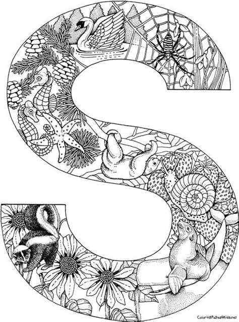 animal alphabet letters coloring pages coloring kids kids coloring