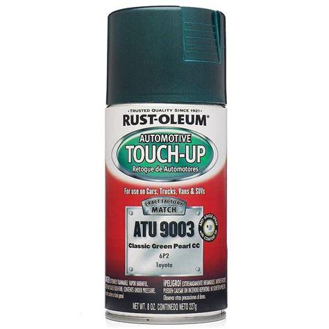 home depot car touch up paint rust oleum automotive 8 oz gunmetal auto touch up spray