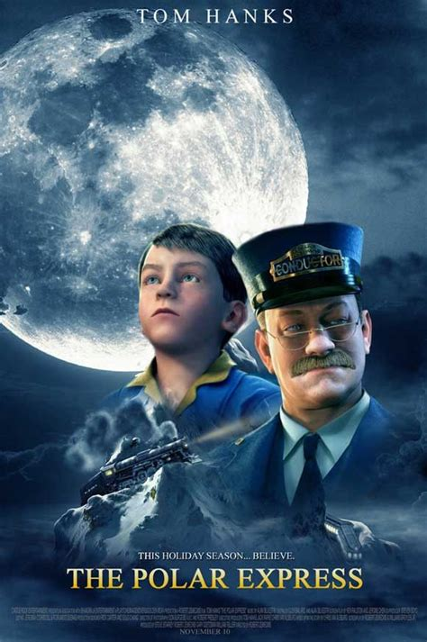 film natal the polar express the polar express 11x17 movie poster 2004 movie polar