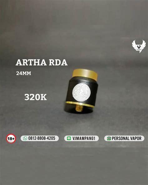 Authentic Artha Rda 24 Mm By Advken Fatrio Oten distributor advken artha rda 24mm authentic jual