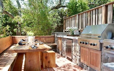 patio kitchens design 1001 ideen f 252 r au 223 enk 252 che selber bauen 23 beispiele f 252 r