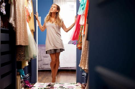 Carrie Bradshaw Closet by And The City 2 Trailer Features Miley Cyrus And Penelope