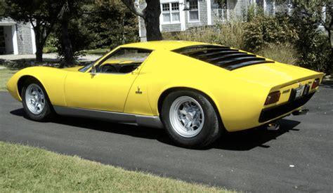 Lamborghini Miura For Sale Price 1969 Lamborghini Miura S Classic Italian Cars For Sale