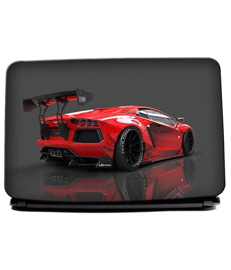 Lamborghini Laptop by Lamborghini Back Car Laptop Skin Buy