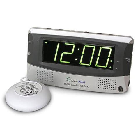 Alarm Mobil Sonic sonic alert sonic boom sbd375ss dual alarm clock w shaker