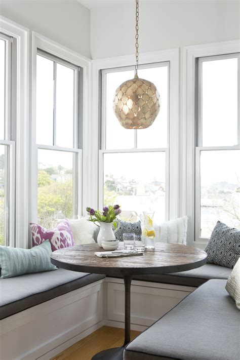 dining nook decor inspiration sunny breakfast nook cool chic