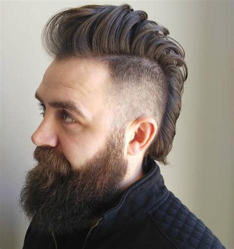 male wide mohawks mohawk fade haircuts