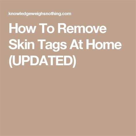 17 best ideas about skin tag removal on apple