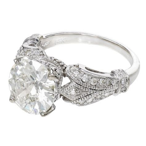 white gold engagement ring at 1stdibs